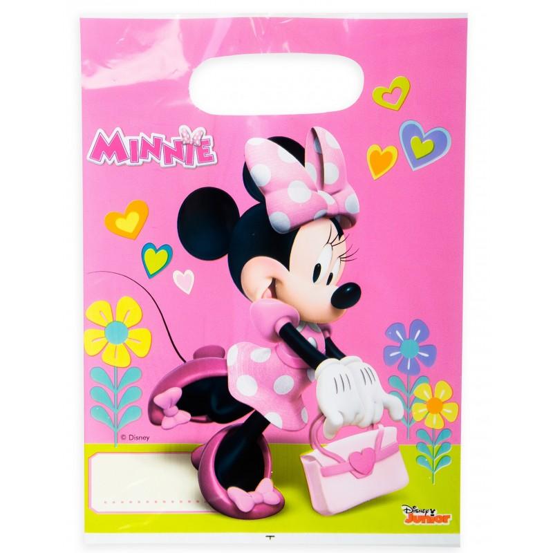 6X Tüte Minnie Helpers