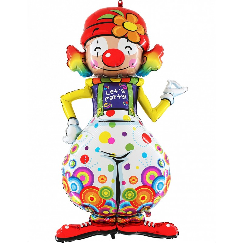 Formballon Clown 150 cm