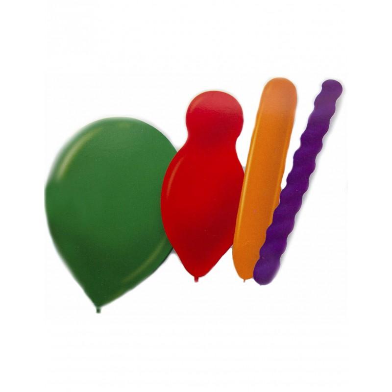 20x Luftballons in Formen
