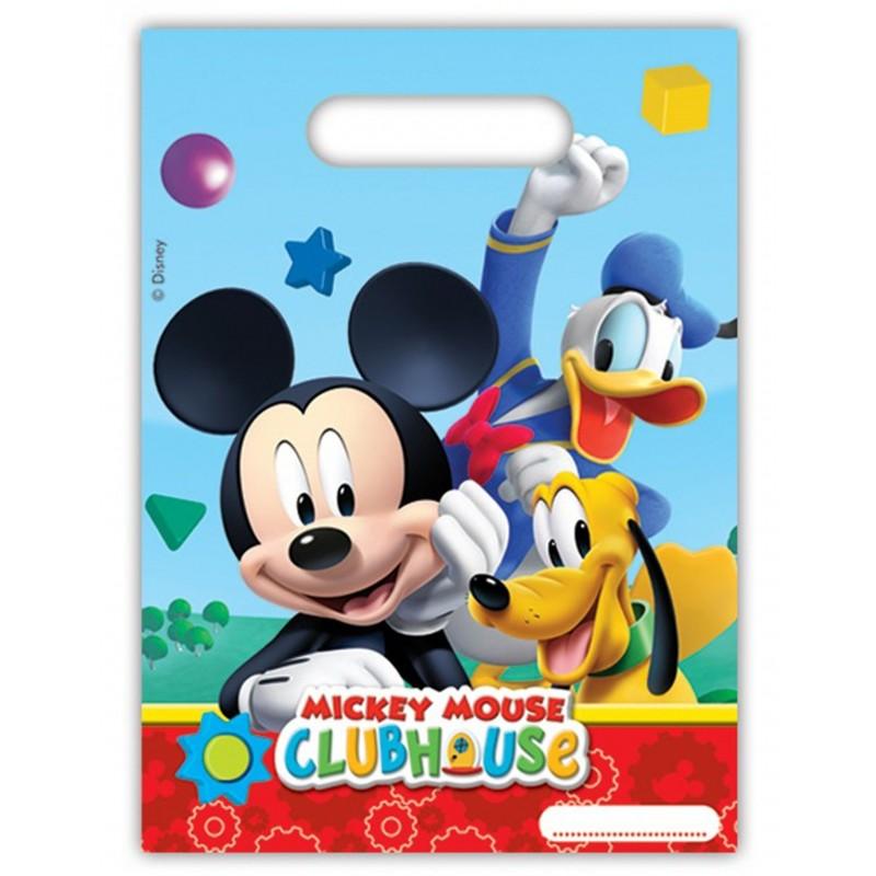 6x Tüten Mickey Club