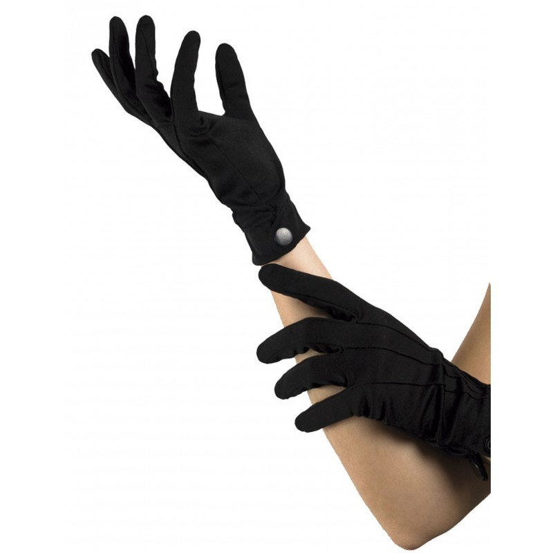 Schwarze, einfache Handschuhe