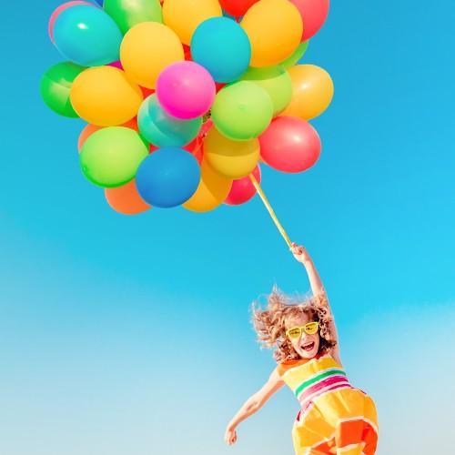 Sommerluftballons