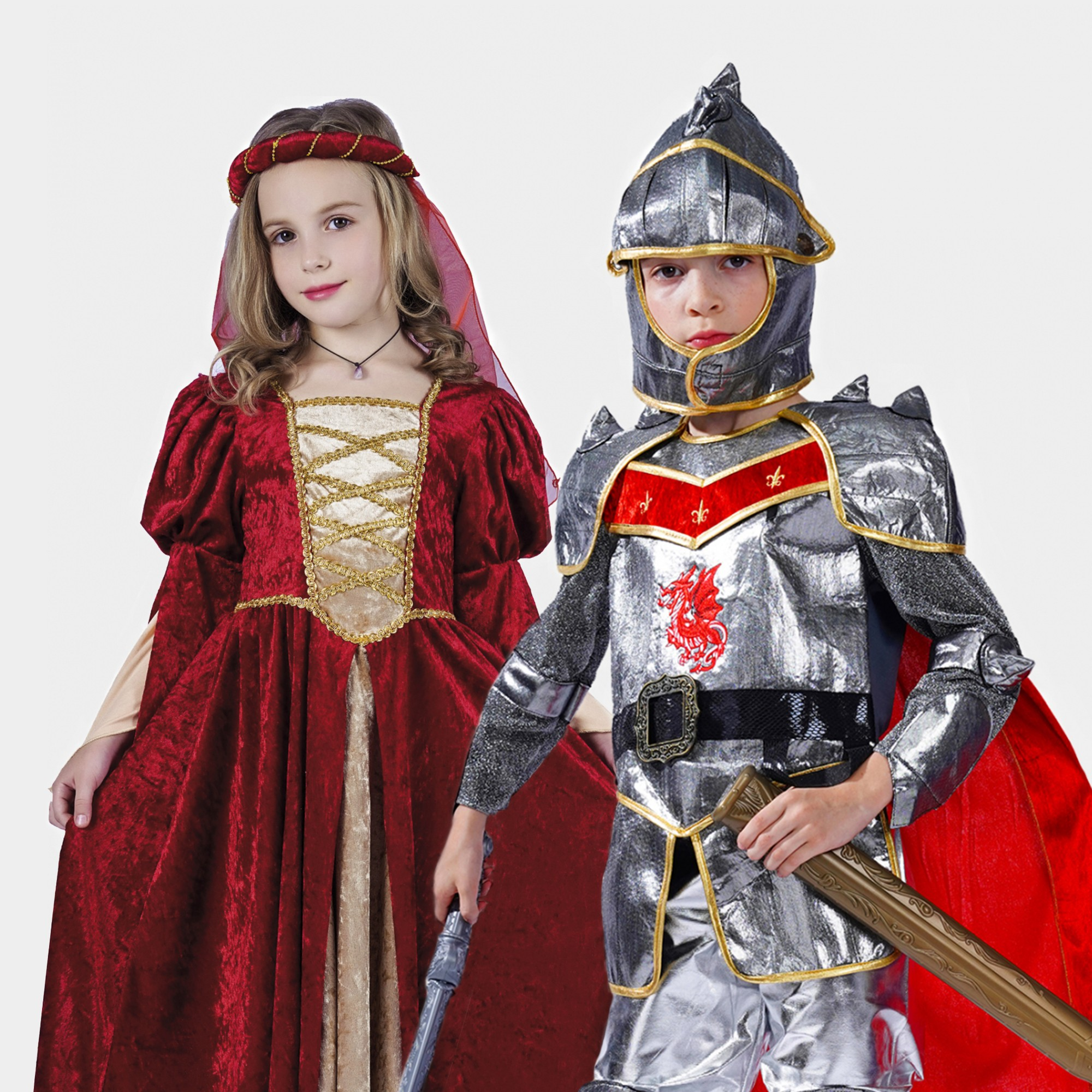Historical costumes and eras