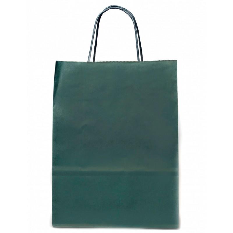 MARINE BLUE PAPER BAG 21X9X29CM
