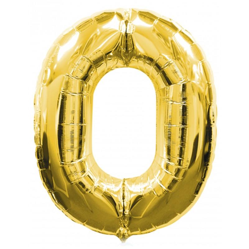SUPERSHAPE GOLD No.0 BALLOON