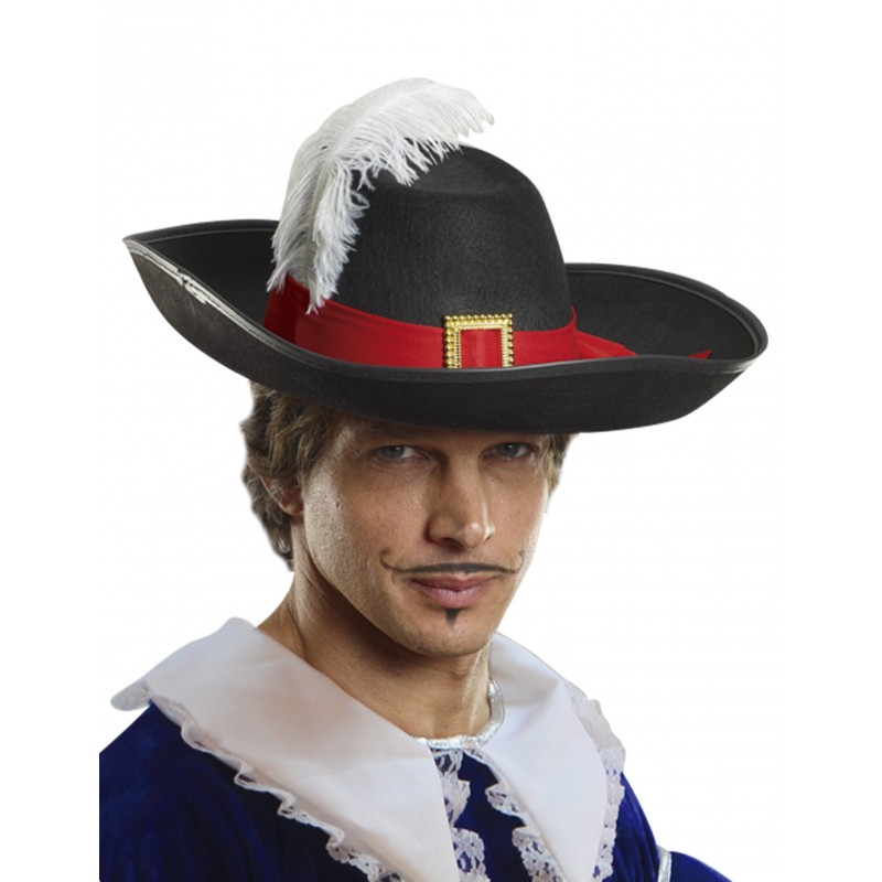 MUSKETEER HAT (FEATHER)