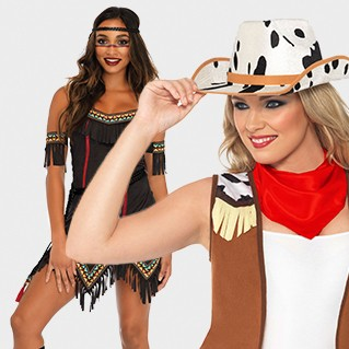 Indians & Cowgirls