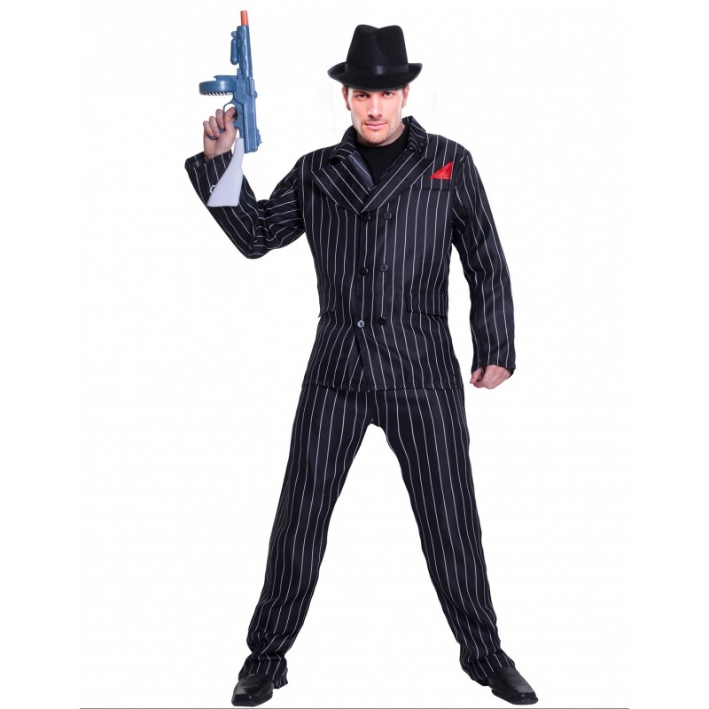 GANGSTER COSTUME MAN (L)